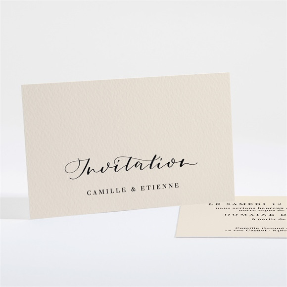 Carton d'invitation mariage Un Grand Jour réf.N161119