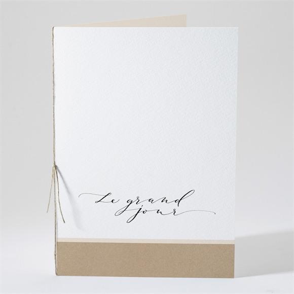 Livret de messe mariage Un Grand Jour réf.N491201