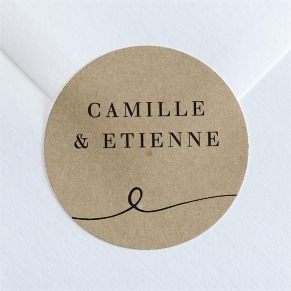 Sticker mariage Un Grand Jour réf.N36064