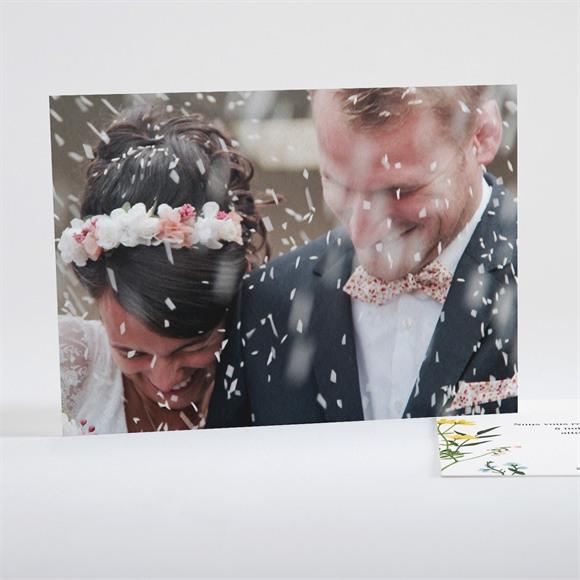 Remerciement mariage Joie et couleurs réf.N15117