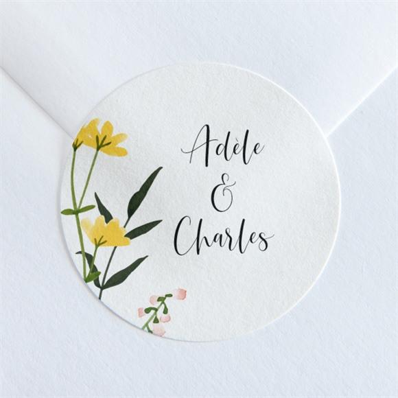 Sticker mariage Joie et couleurs réf.N36065