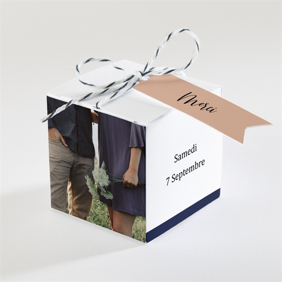 Boîte de dragées mariage Follement Oui réf.N340303