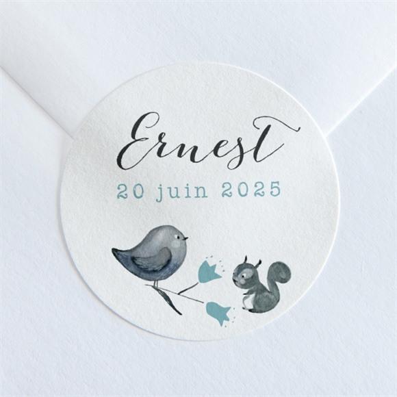 Sticker naissance Dans sa couronne réf.N36069