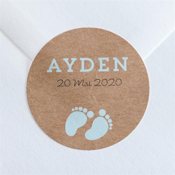 Sticker naissance Cocotte en folie ! réf.N36070