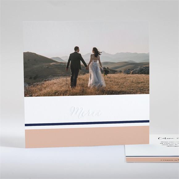 Remerciement mariage Follement Oui réf.N351105