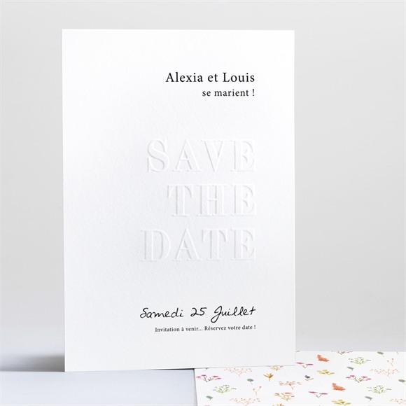 Save the Date mariage Folie Printanière réf.N241218