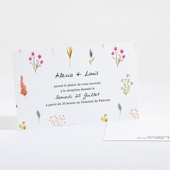 Carton d'invitation mariage Folie Printanière réf.N161127