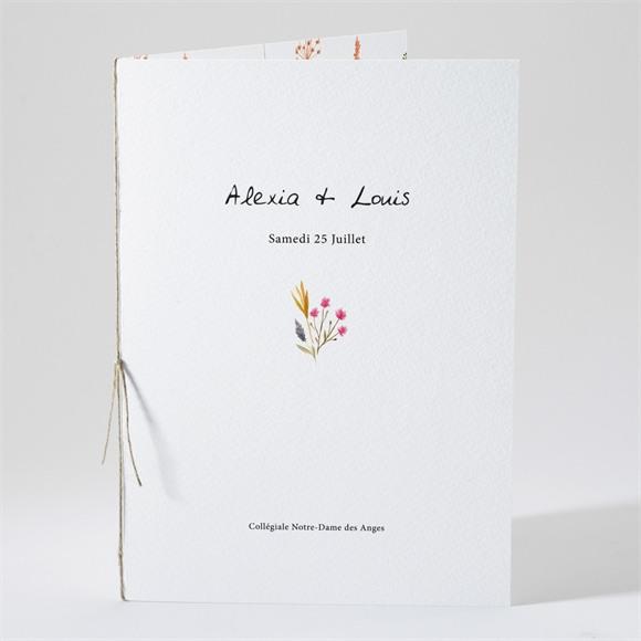 Livret de messe mariage Folie Printanière réf.N491205