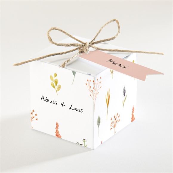 Boîte de dragées mariage Folie Printanière réf.N340305