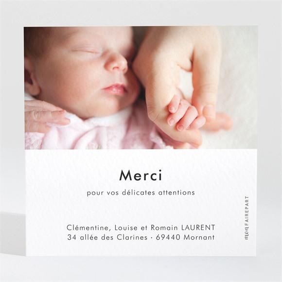 Remerciement naissance Petit Nid réf.N3001619
