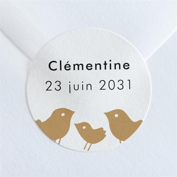 Sticker naissance Petit Nid réf.N36081