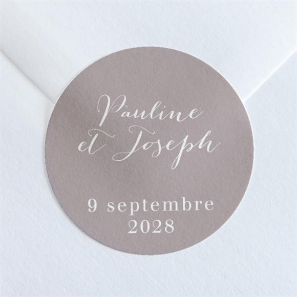 Sticker mariage Nuances réf.N36080