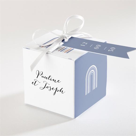 Boîte de dragées mariage Notre Camaïeu réf.N340309