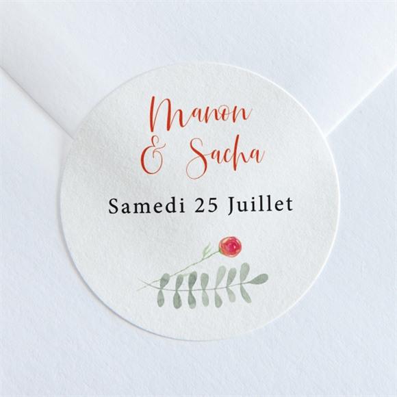 Sticker mariage Douceur Printanière réf.N36084