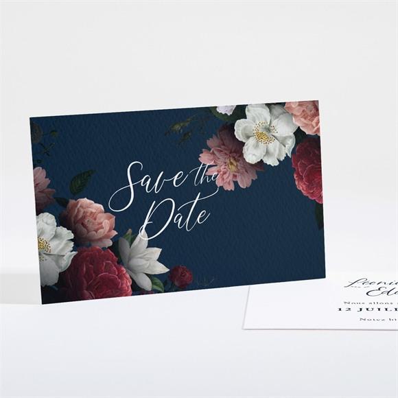 Save the Date mariage Fleurs de Nuit réf.N161133