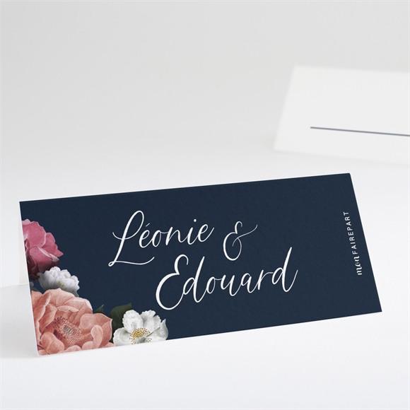 Marque-place mariage Fleurs de Nuit réf.N440758