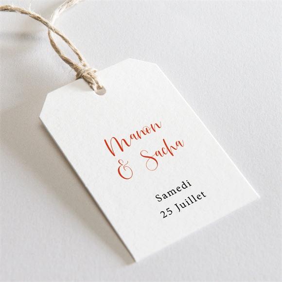 Etiquette mariage Douceur Printanière réf.N29169