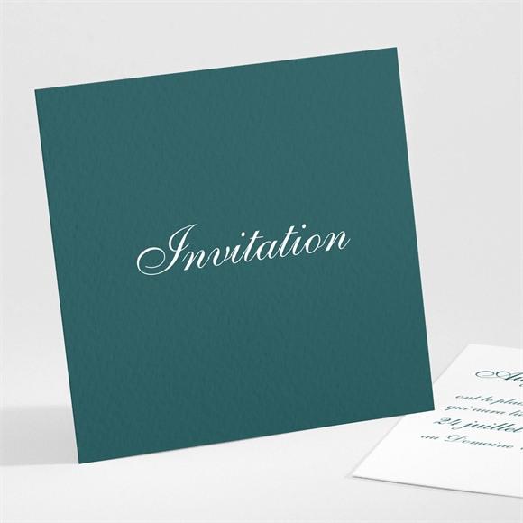 Carton d'invitation mariage Monogramme réf.N301224