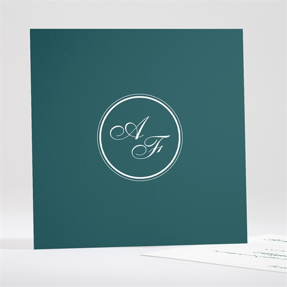 Save the Date mariage Monogramme réf.N351110