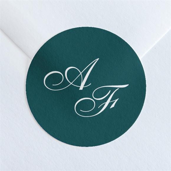 Sticker mariage Monogramme réf.N36089