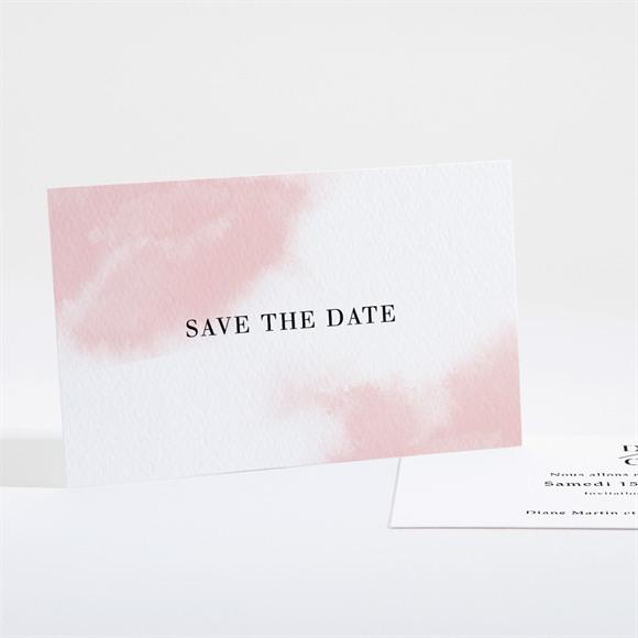 Save the Date mariage Black et pastel réf.N161138