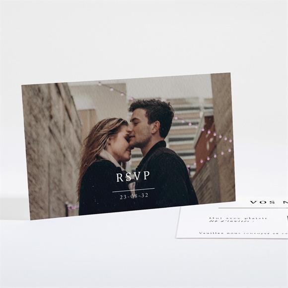 Carton réponse mariage Un point c'est Nous réf.N161140
