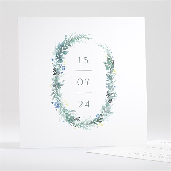 Save the Date mariage Poésie d'Aquarelle réf.N351116