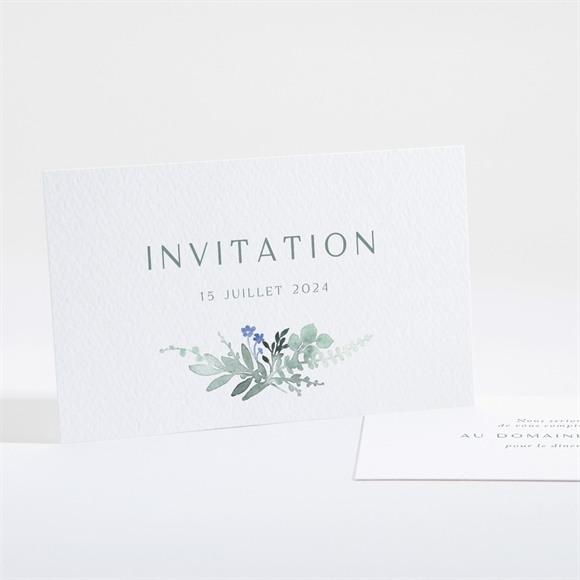 Carton d'invitation mariage Poésie d'Aquarelle réf.N161143