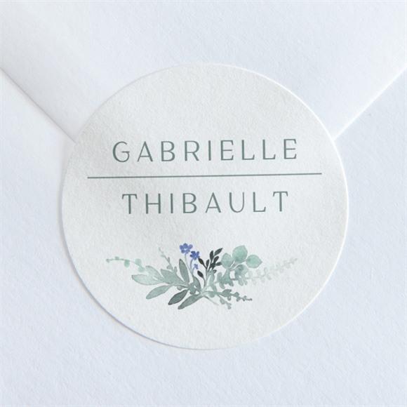 Sticker mariage Poésie d'Aquarelle réf.N36095