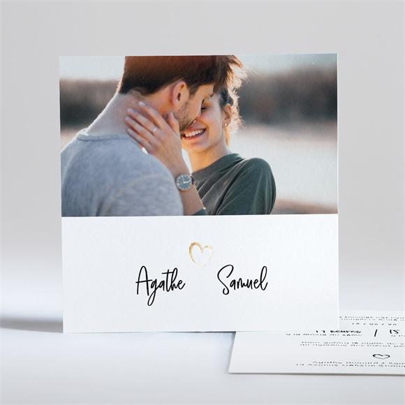 Faire-part mariage Juste Nous réf.N351112