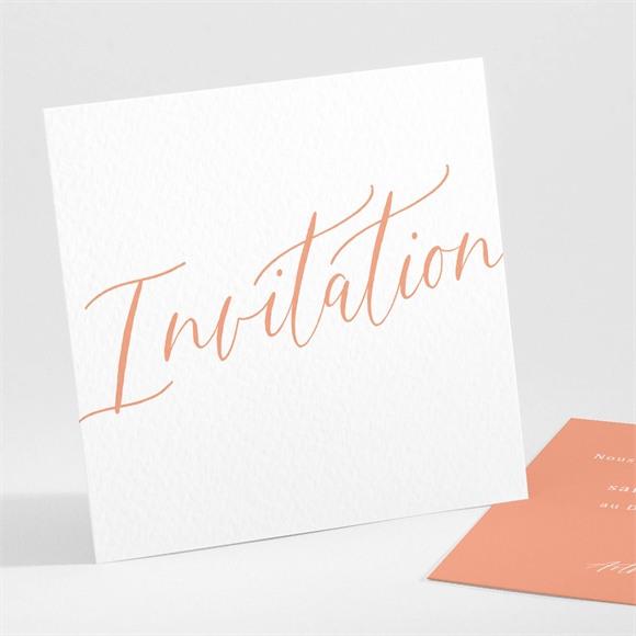 Carton d'invitation mariage Fantasques réf.N301221