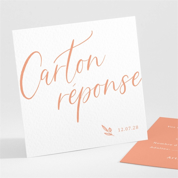 Carton réponse mariage Fantasques réf.N301222