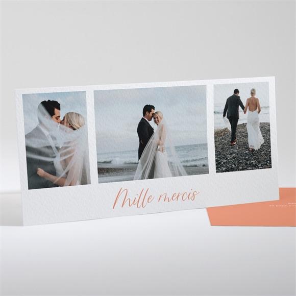 Remerciement mariage Fantasques réf.N131104