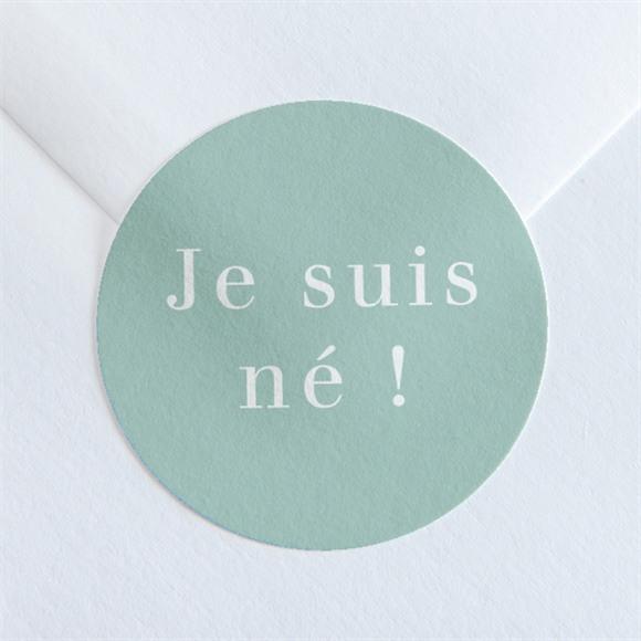 Sticker naissance Son Petit Nid réf.N36097