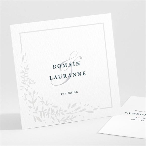 Carton d'invitation mariage En relief réf.N301236