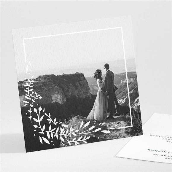 Remerciement mariage En relief réf.N301237