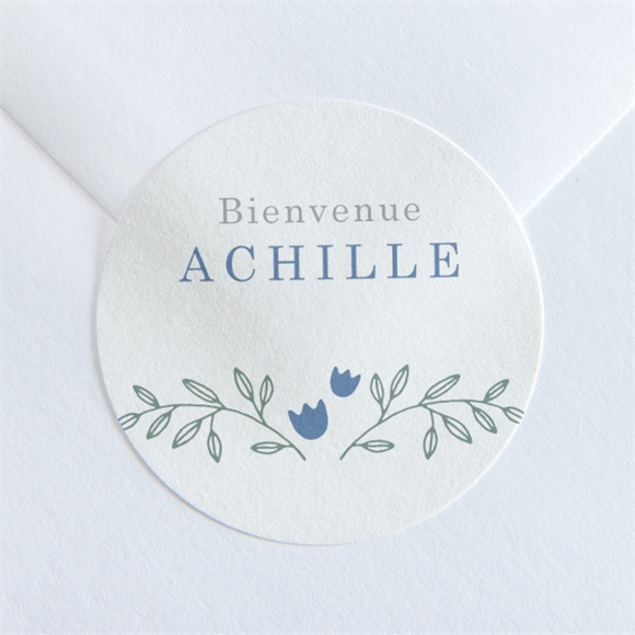 Sticker naissance Profil craquant réf.N36076