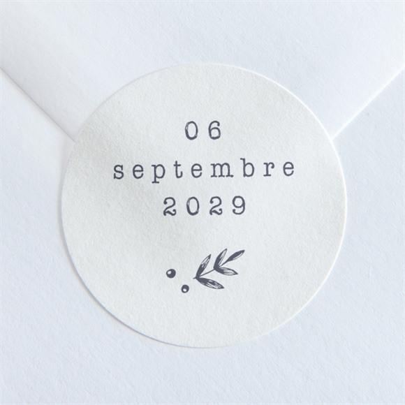 Sticker mariage Feuillages réf.N360101