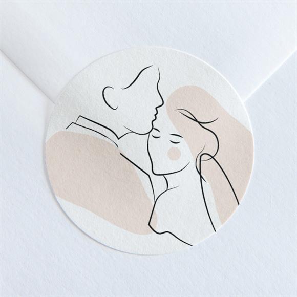 Sticker mariage Tendres réf.N360104