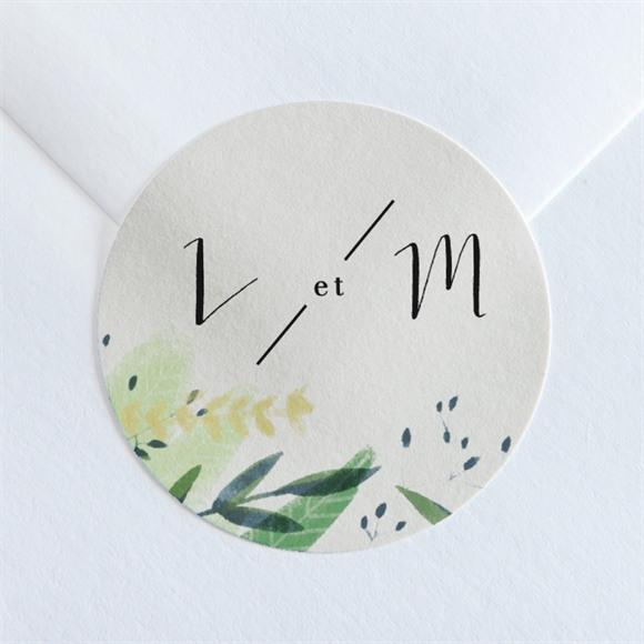 Sticker mariage Univers végétal réf.N360103