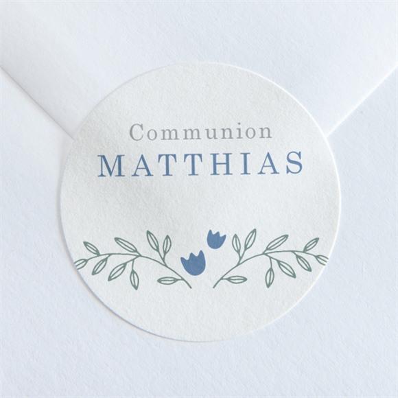 Sticker communion Tendre profil réf.N360108