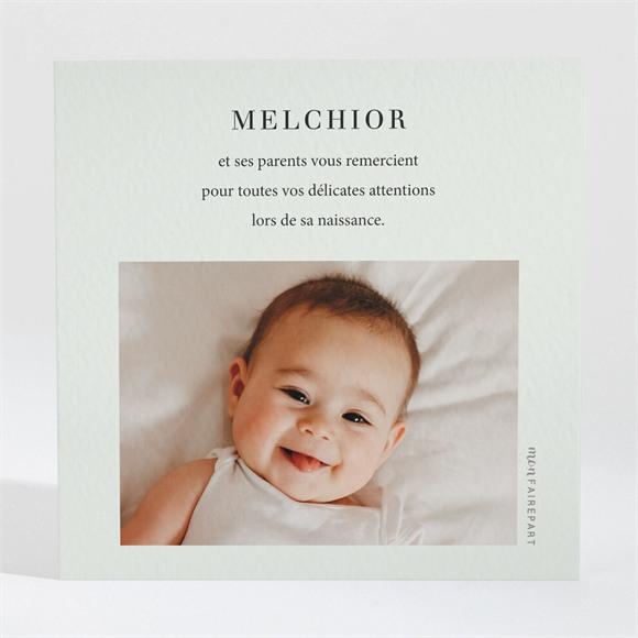Remerciement naissance Petit Portrait réf.N3001634
