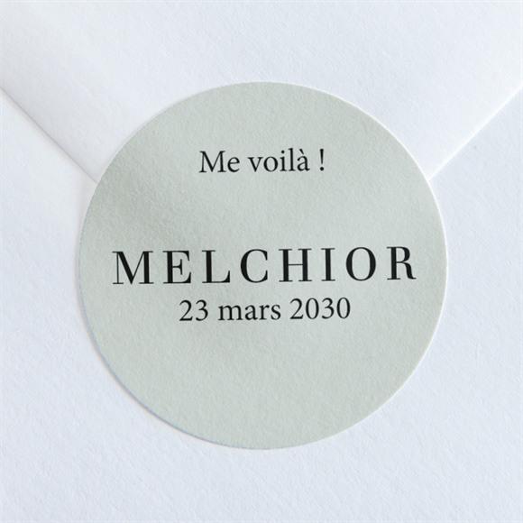Sticker naissance Petit Portrait réf.N360111