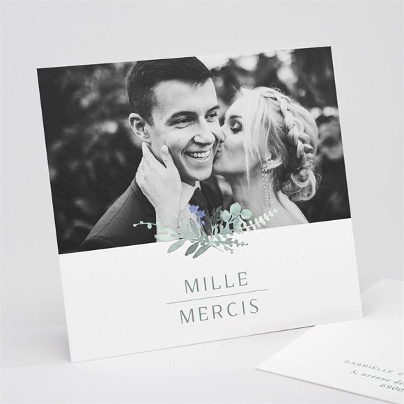 Remerciement mariage Poésie d'Aquarelle réf.N311262