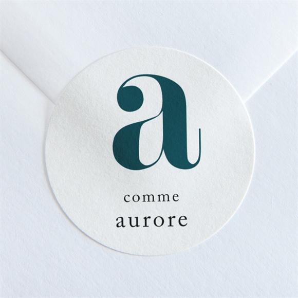 Sticker naissance Jolie Comptine réf.N360112