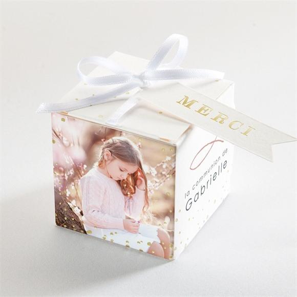 Boîte de dragées communion Jour Sacré réf.N340327