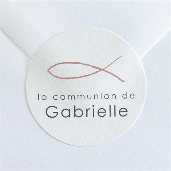 Sticker communion Jour Sacré réf.N360118