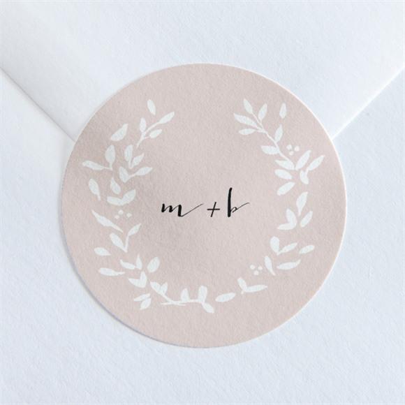 Sticker mariage Médaillon réf.N360121