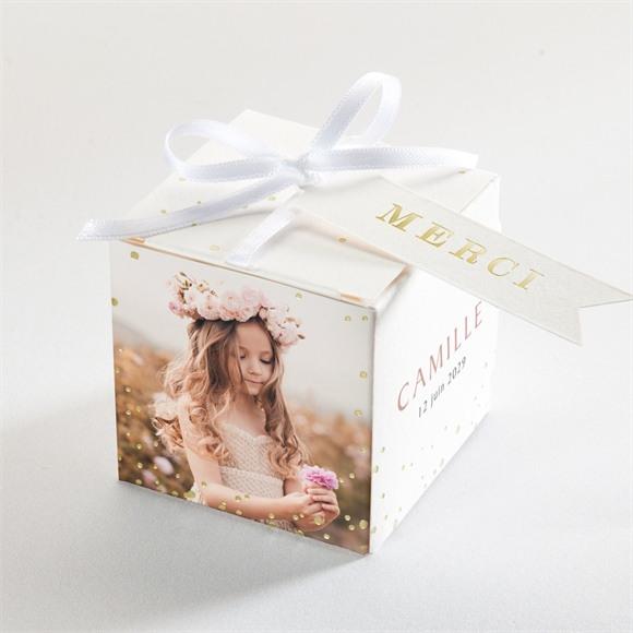 Boîte de dragées communion Jolies Grâces réf.N340329