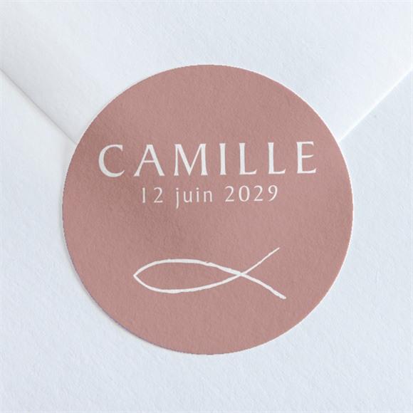 Sticker communion Jolies Grâces réf.N360120
